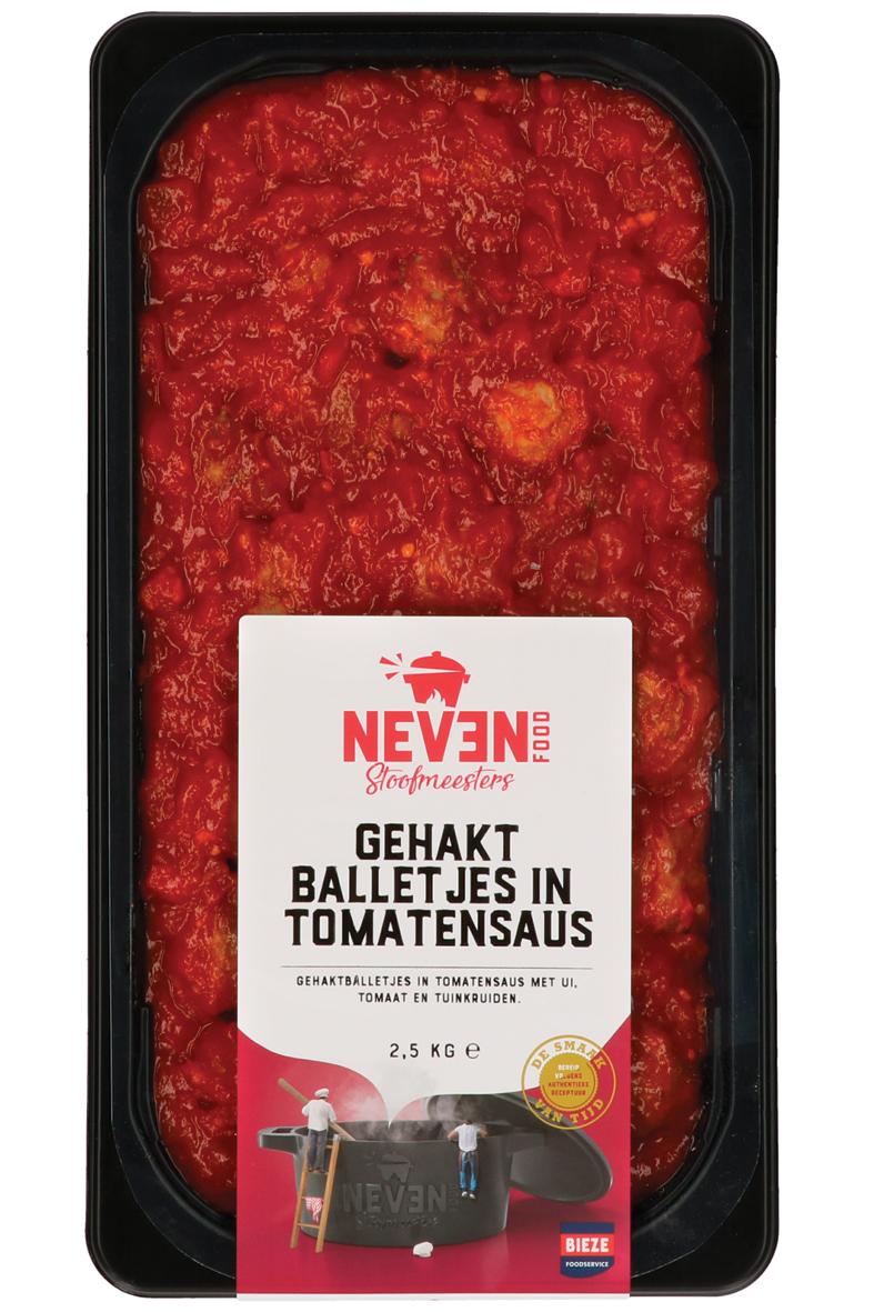 Neven Food gehaktballetjes in tomatensaus