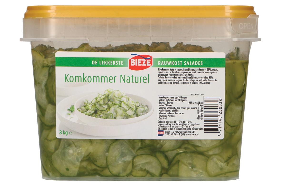 Bieze komkommer naturel