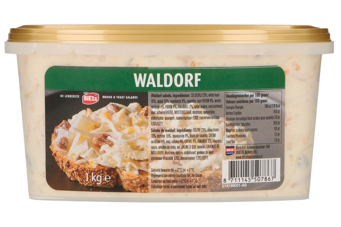 Bieze salade Waldorf