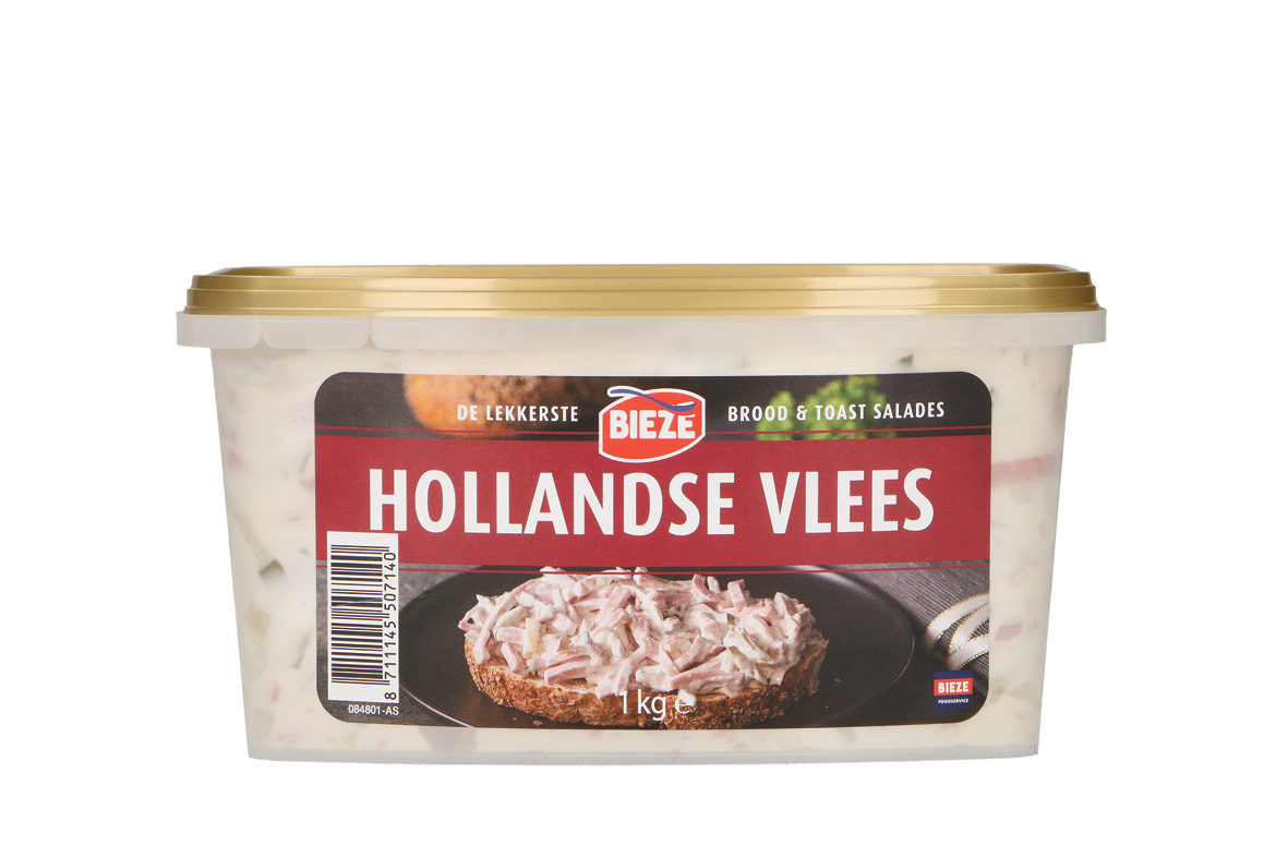 Bieze salade vlees Hollands