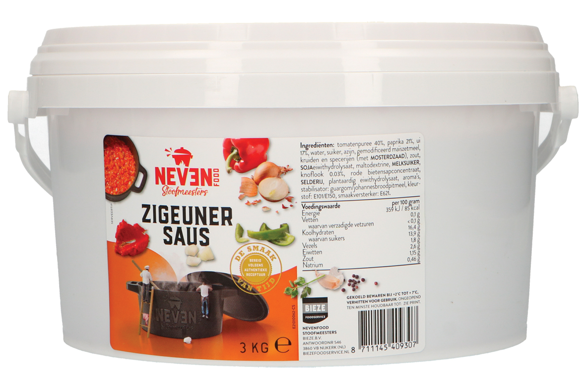 Neven Food zigeuner saus