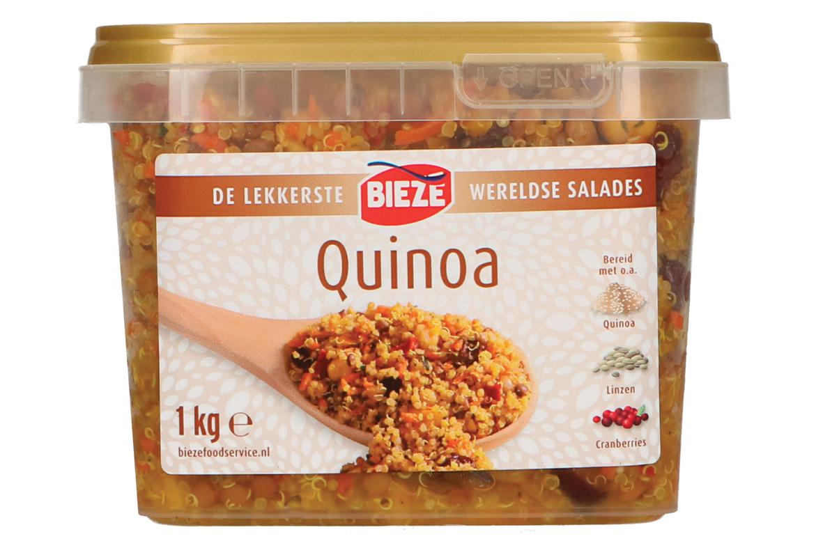 Bieze wereldse salades quinoa