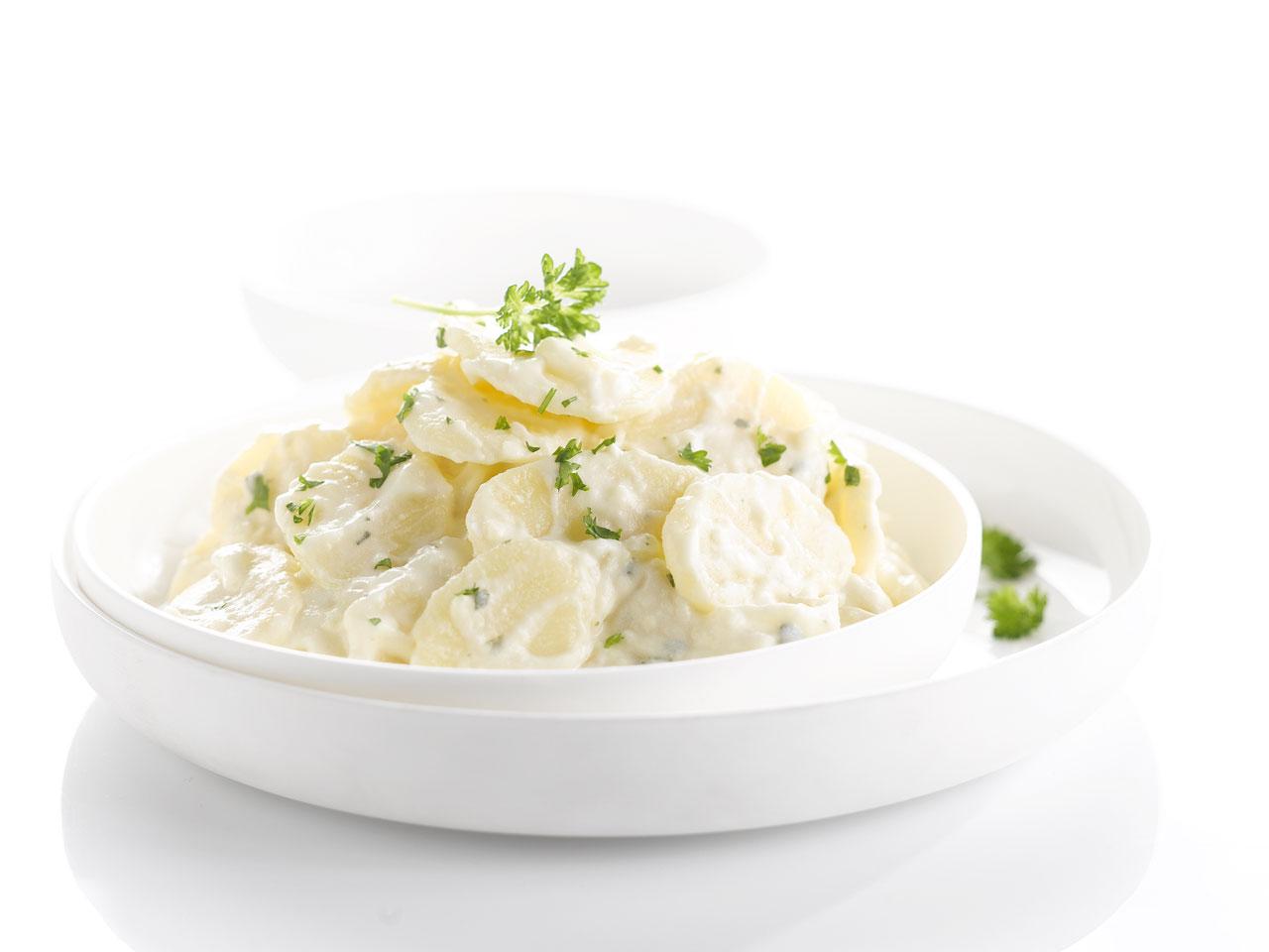 Bieze aardappelsalade