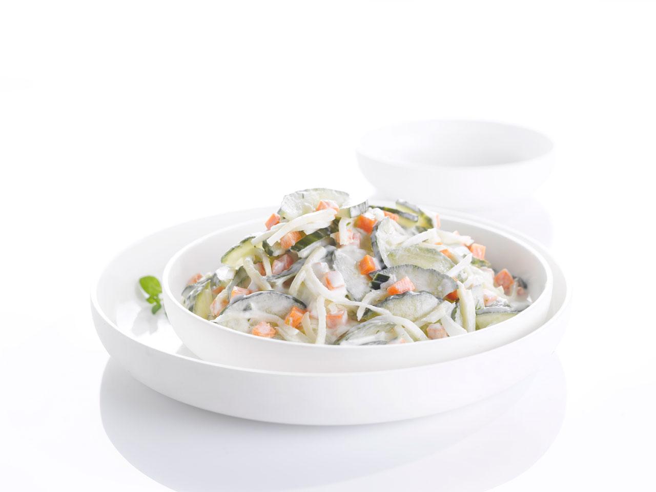 Bieze salade 4 jaargetijden