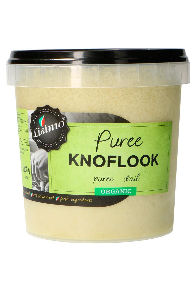 Lisimo biologisch puree knoflook