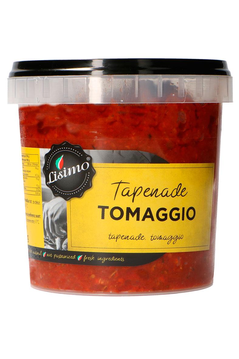 Lisimo tapenade tomaggio