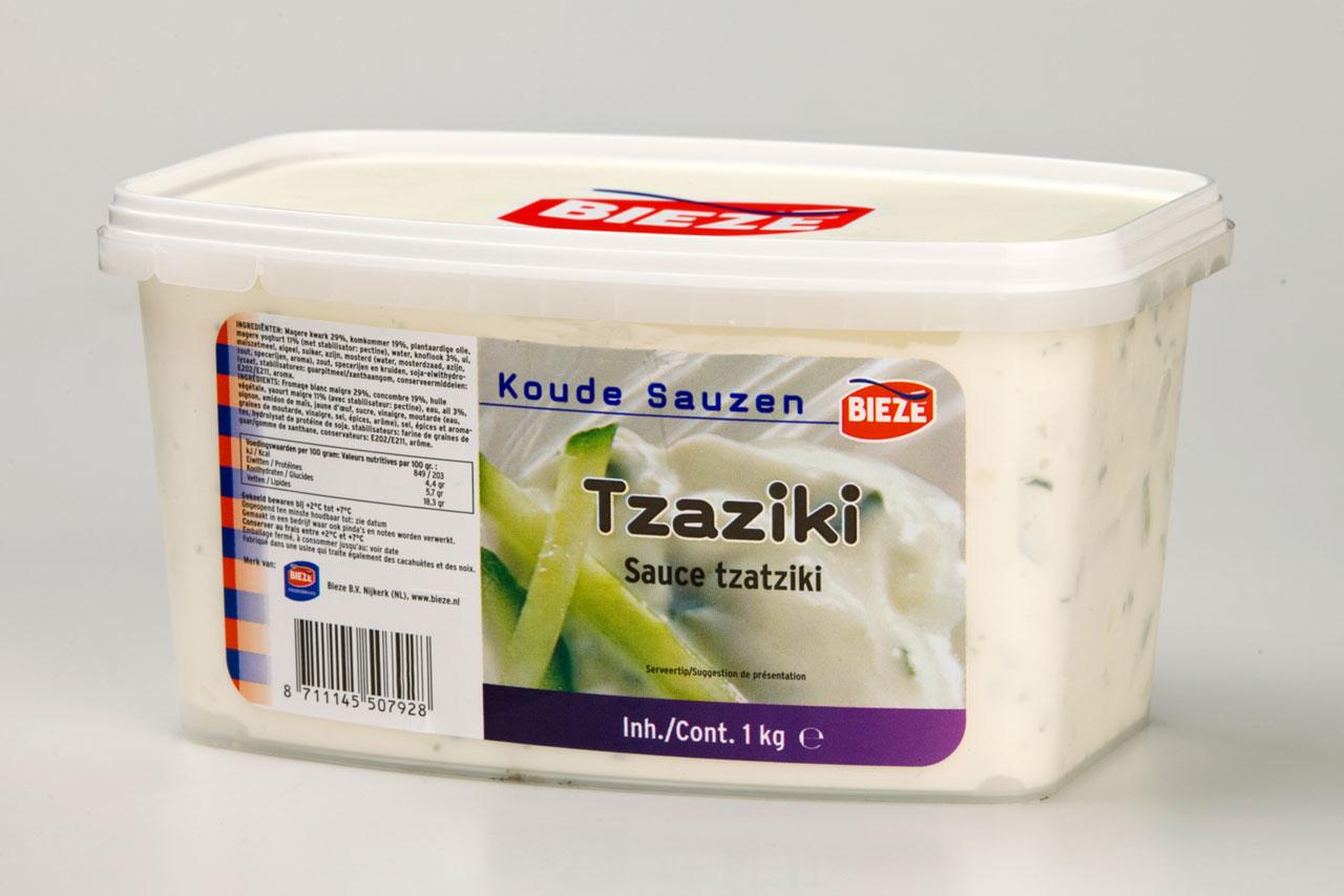 Bieze saus tzaziki