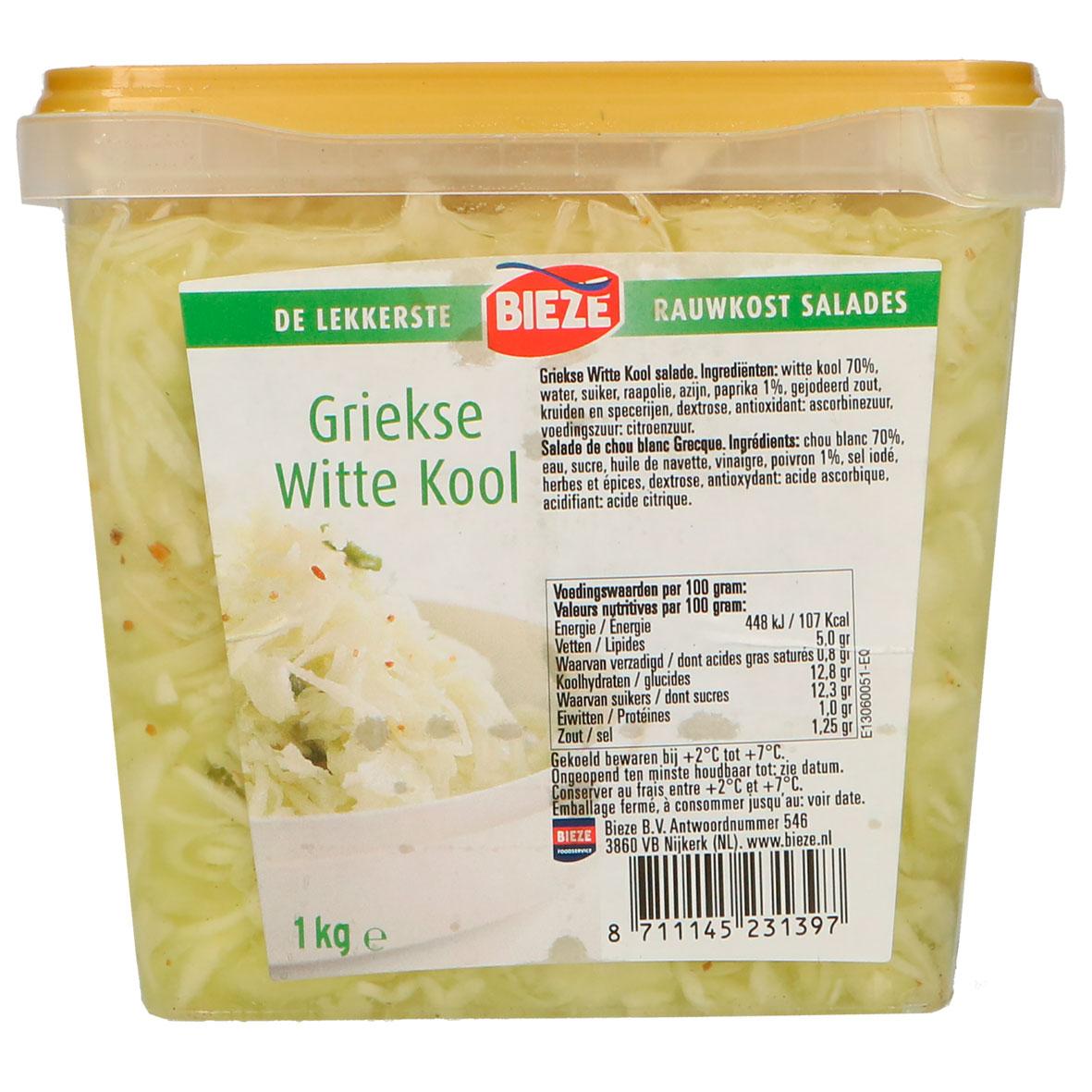 Bieze Griekse witte kool