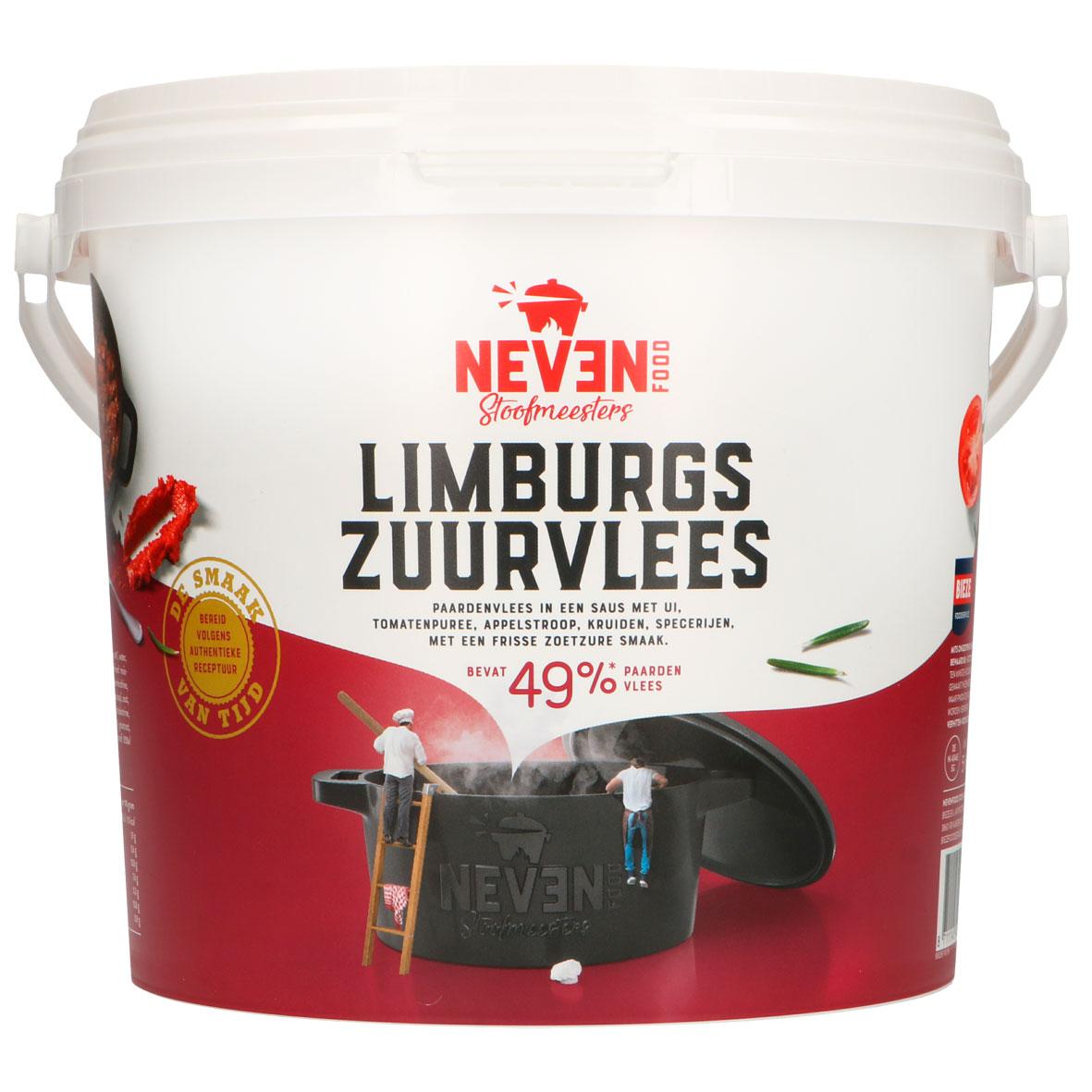Neven Food Limburgs zuurvlees paard speciaal