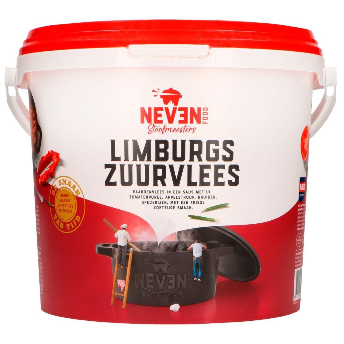 Neven Food Limburgs zuurvlees paard normaal
