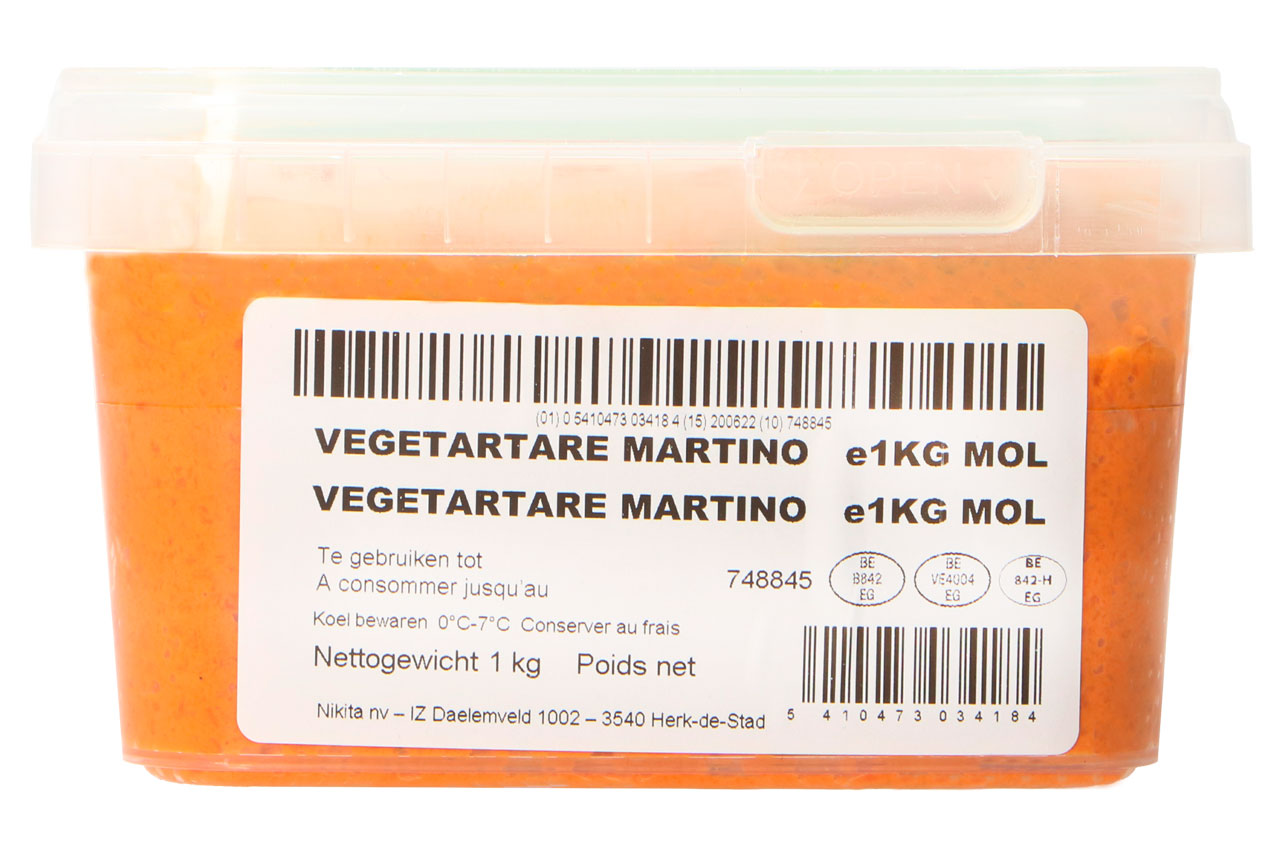 Maitre Olivier vegetartare martino
