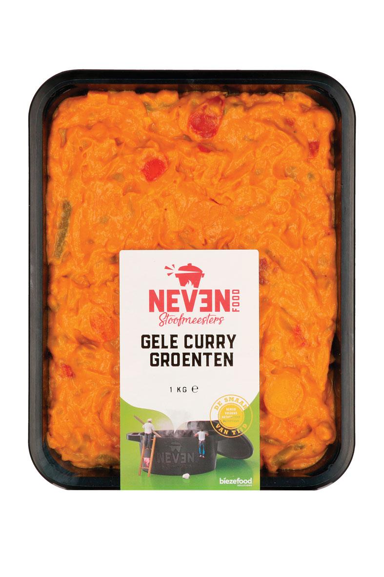 Neven Food gele curry groenten
