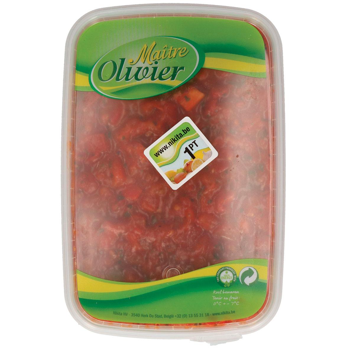 Maitre Olivier bruschetta tomaat