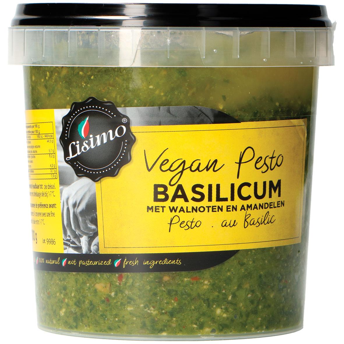 Lisimo vegan pesto basilicum